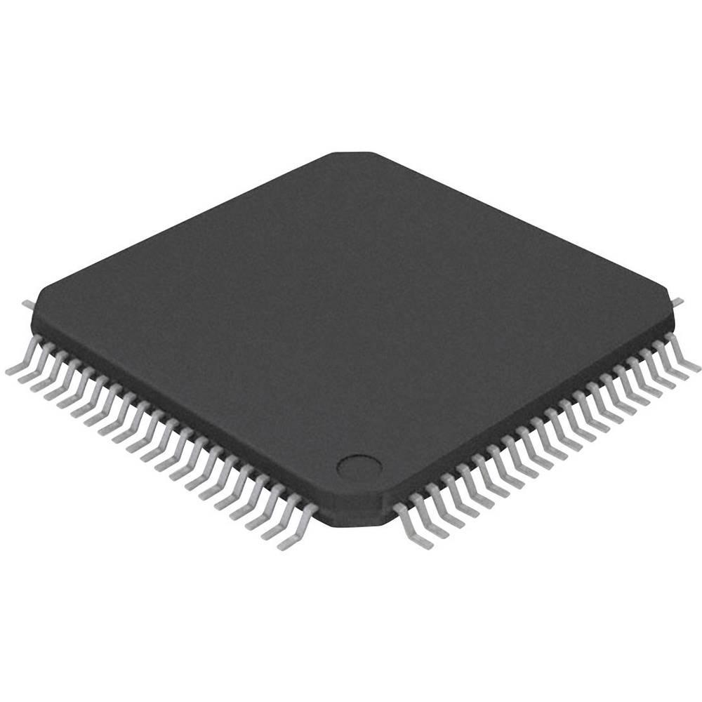 Vgrajeni mikrokontroler DSPIC30F6014A-30I/PT TQFP-80 (12x12) Microchip Technology 16-bitni 30 MIPS število I/O 68
