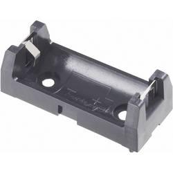 Držalo za baterijo tipa 2/3 AA s kontaktom, (D x Š x V) 43 x 18 x 15 mm