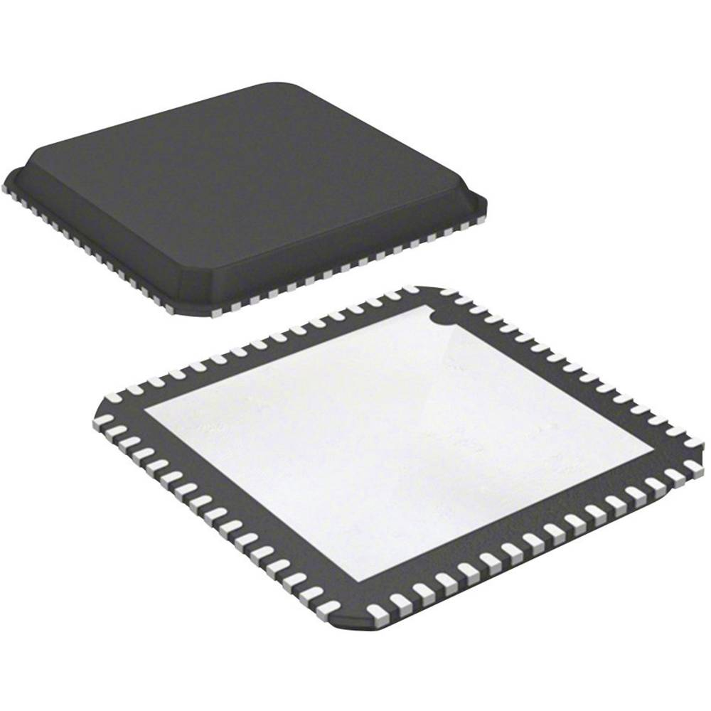 Vgrajeni mikrokontroler PIC32MX534F064H-I/MR QFN-64 Exposed Pad (9x9) Microchip Technology 32-bitni 80 MHz število I/O 53