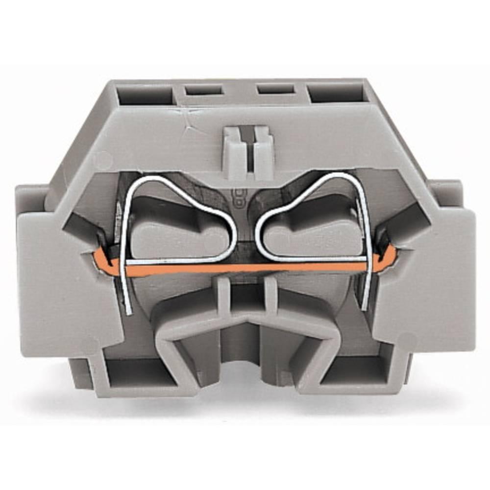 Enkelt klemme 7 mm Trækfjeder Orange WAGO 262-316 100 stk