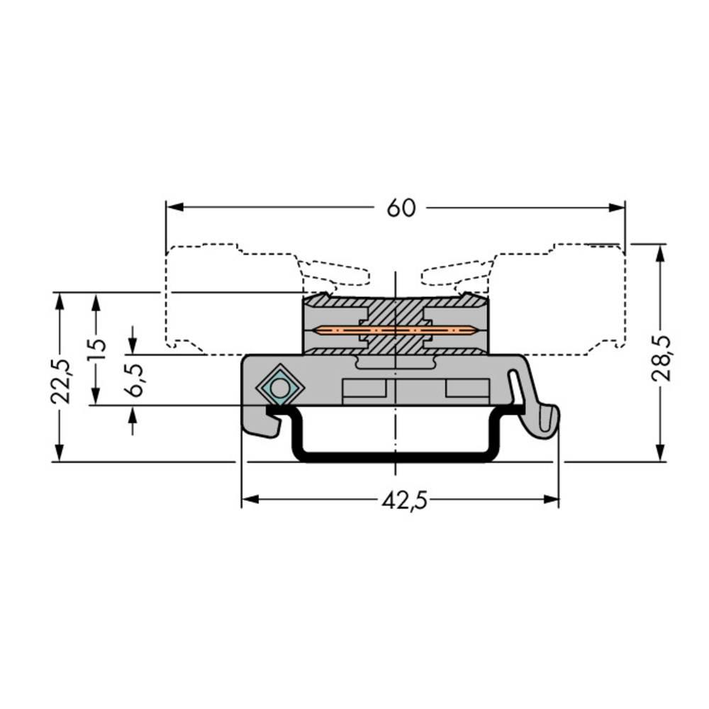 Forbindelsesstiftliste 232 (value.1360685) Samlet antal poler 18 WAGO 232-518/007-000 Rastermål: 5 mm 25 stk