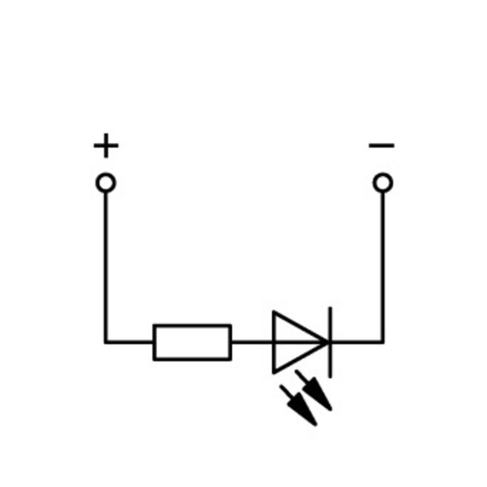 Basisklemme 5 mm Trækfjeder Belægning: L Grå WAGO 769-239/281-434 100 stk