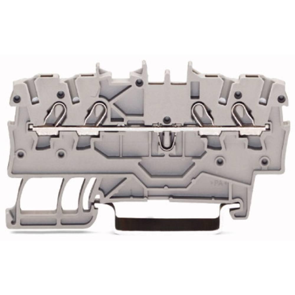 Gennemgangsklemme 3.50 mm Trækfjeder Sort WAGO 2000-1405 100 stk