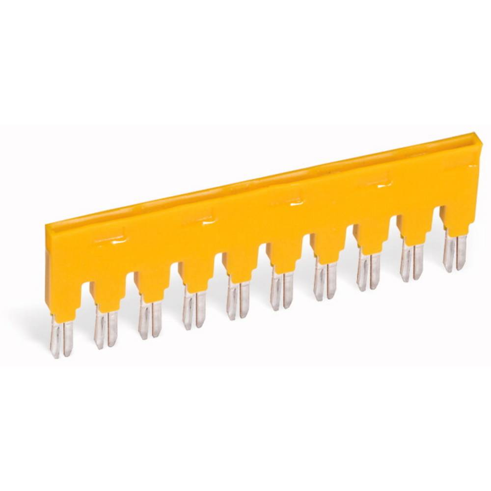 Mostiček, število polov: 5 rumene barve, 25 kosov WAGO 859-405/000-029