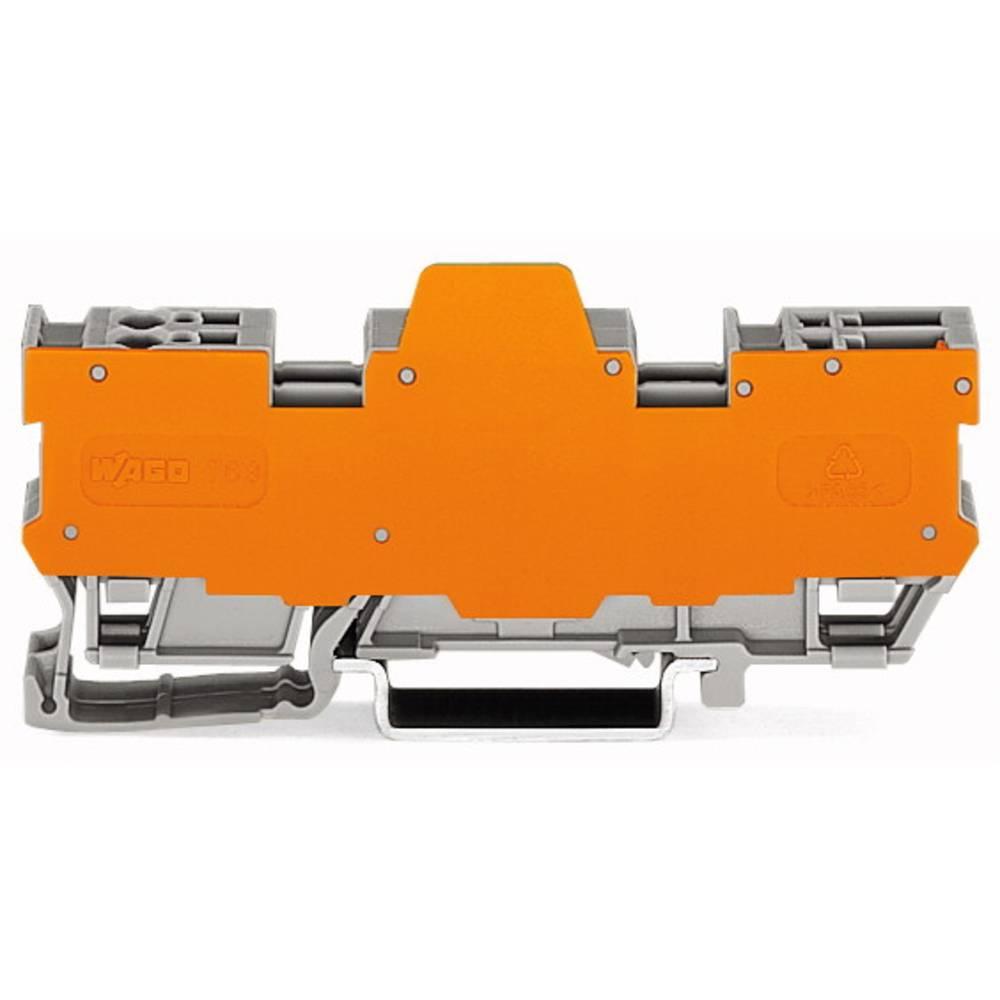 Basisklemmeblok 5 mm Trækfjeder Belægning: L Grå WAGO 769-184/769-314 5 stk