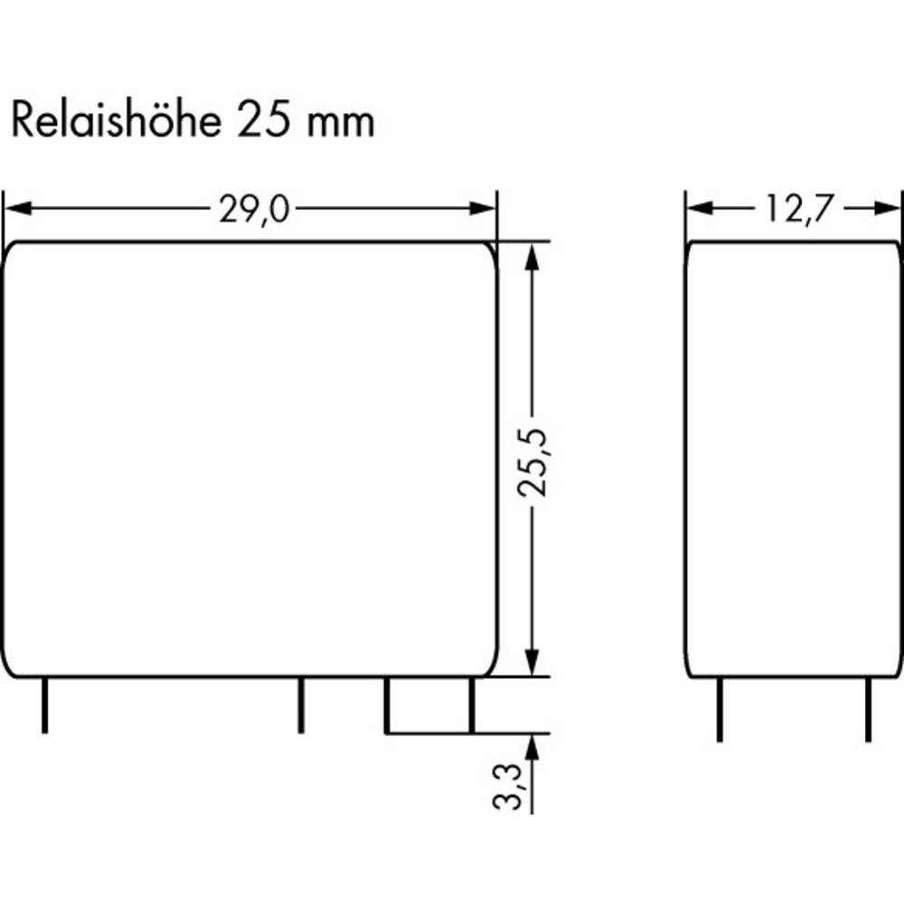 Printrelais (value.1292897) 110 V/DC 8 A 2 Wechsler (value.1345274) WAGO 788-191 20 stk