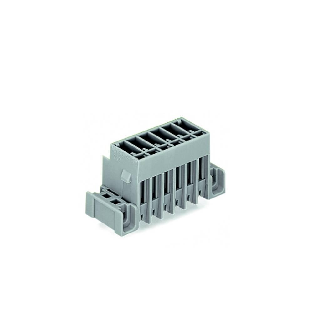 Tilslutningskabinet-printplade 769 (value.1361150) Samlet antal poler 2 WAGO 769-632/003-000 Rastermål: 5 mm 200 stk