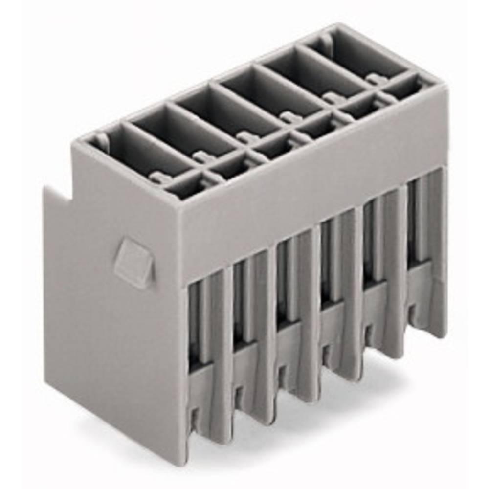 Tilslutningskabinet-printplade 769 (value.1361150) Samlet antal poler 5 WAGO 769-635 Rastermål: 5 mm 50 stk