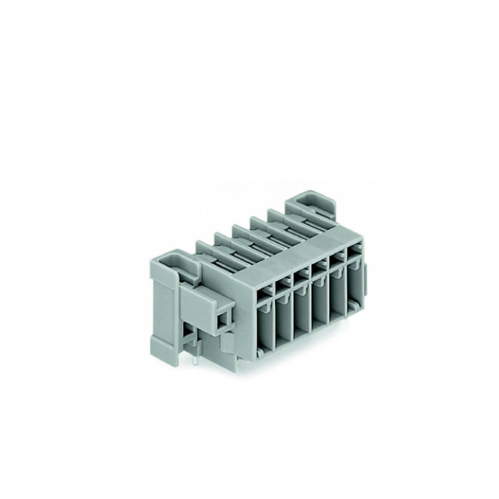 Tilslutningskabinet-printplade 769 (value.1361150) Samlet antal poler 6 WAGO 769-666/004-000 Rastermål: 5 mm 50 stk