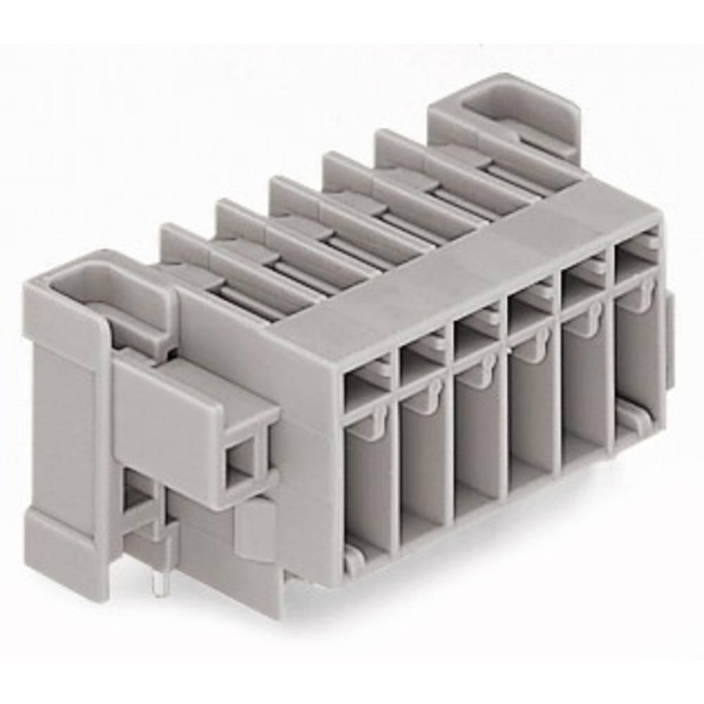 Tilslutningskabinet-printplade 769 (value.1361150) Samlet antal poler 4 WAGO 769-664/004-000 Rastermål: 5 mm 50 stk