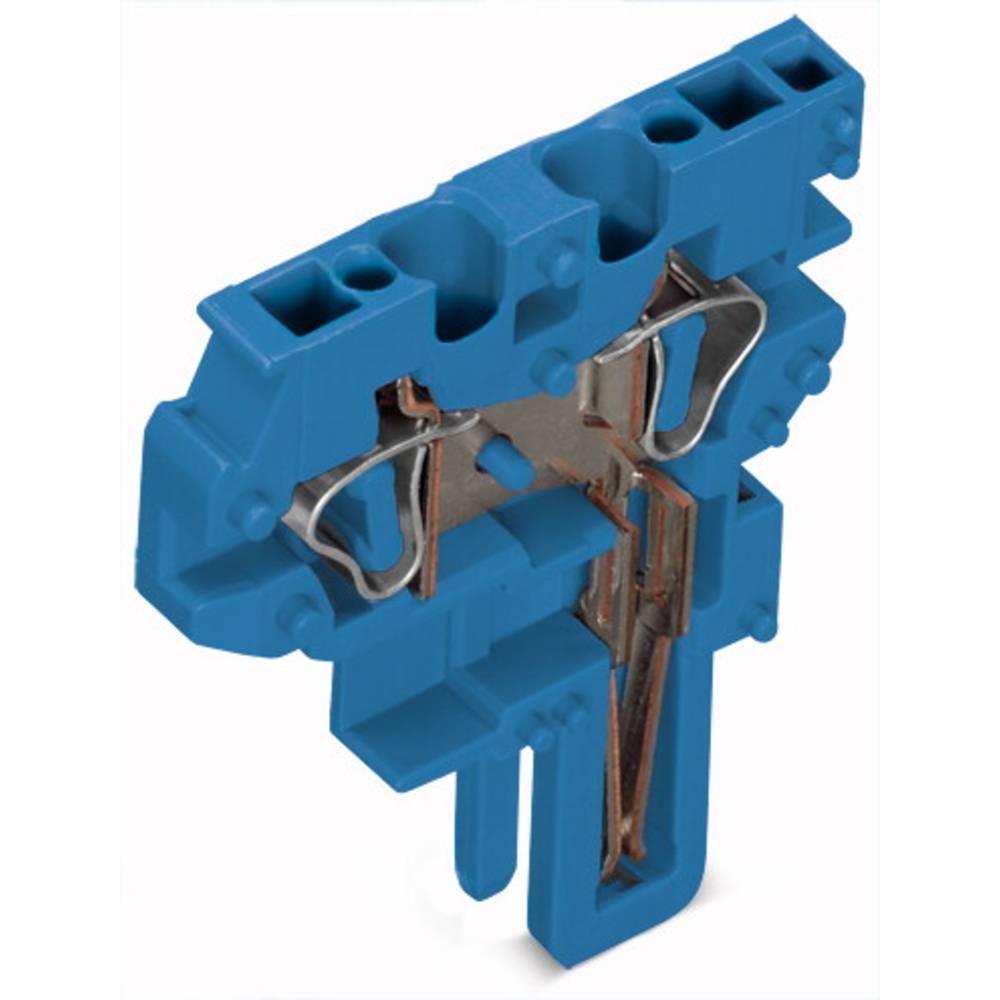 Enkelt klemme 5 mm Trækfjeder Belægning: N Blå WAGO 769-506/000-006 250 stk