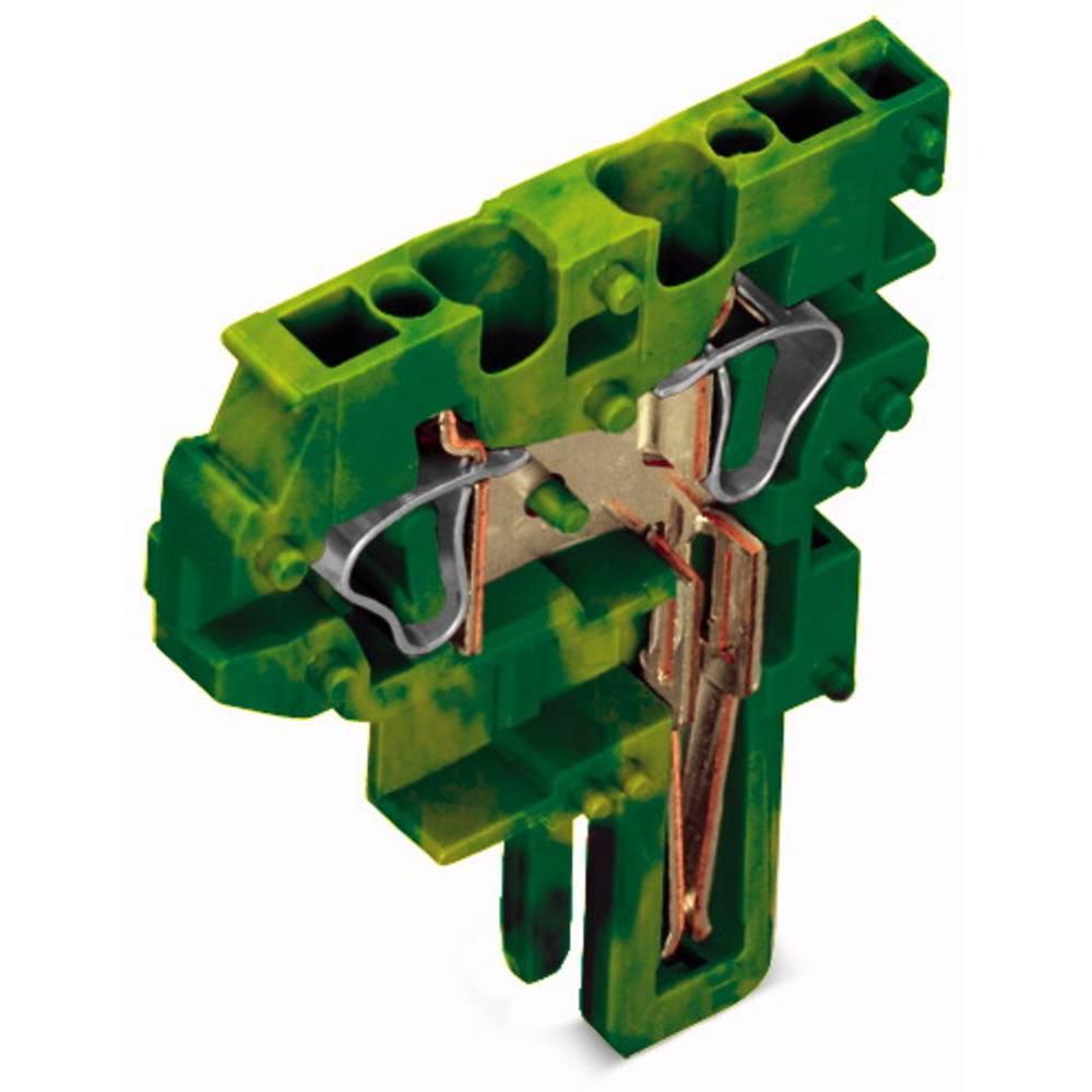 Enkelt klemme 5 mm Trækfjeder Belægning: Terre Grøn-gul WAGO 769-505/000-016 250 stk