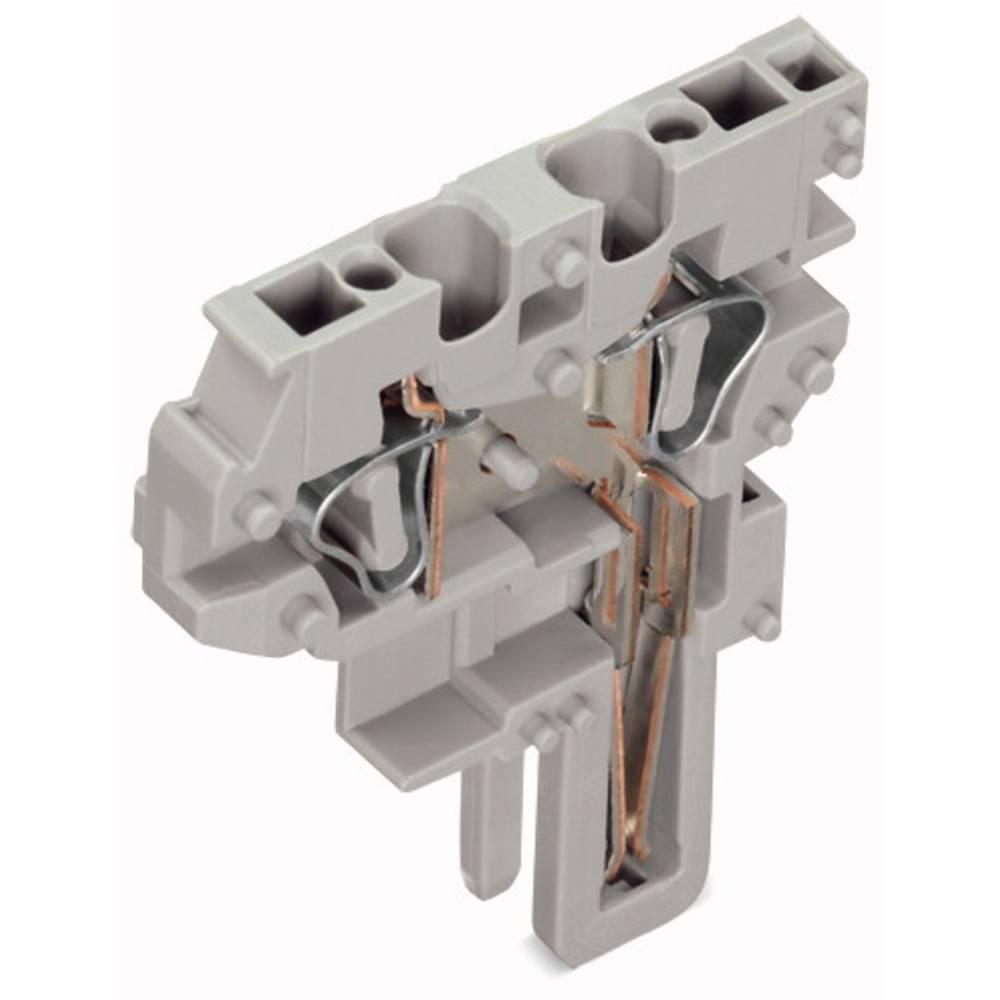 Enkelt klemme 5 mm Trækfjeder Belægning: L Grå WAGO 769-505 250 stk