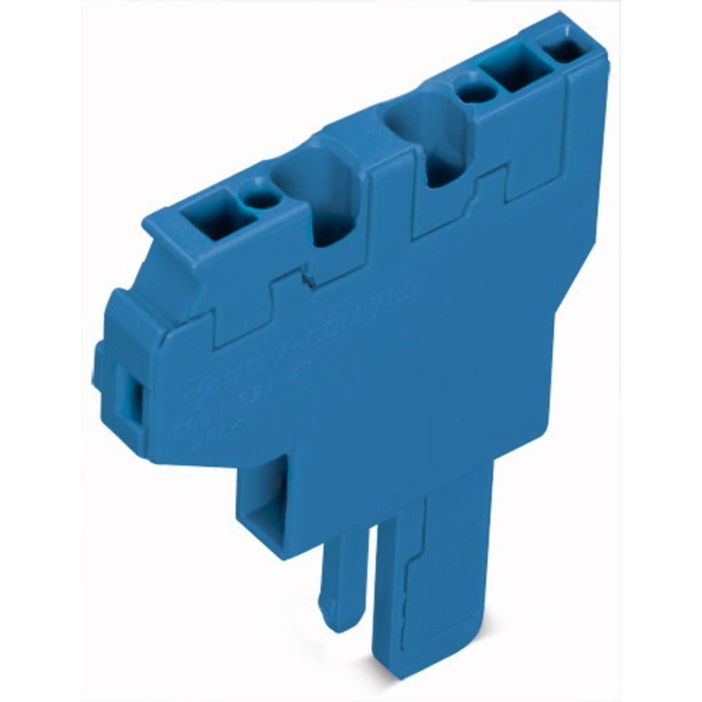 Enkelt klemme 5 mm Trækfjeder Belægning: N Blå WAGO 769-504/000-006 250 stk