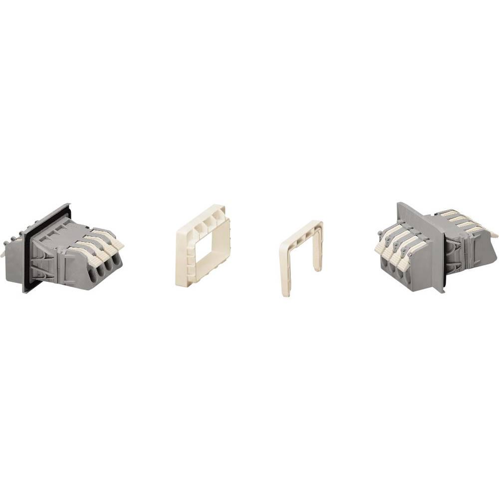 Ohišje vtičnice - kabel 828 št. polov skupaj 4 WAGO 828-264/313-000 mere: 11.50 mm 20 kosov