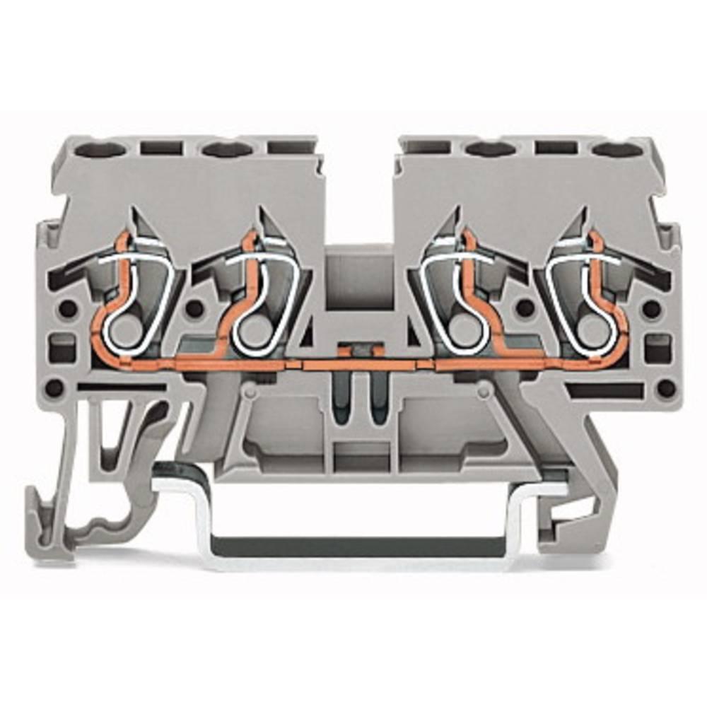 Gennemgangsklemme 5 mm Trækfjeder Orange WAGO 870-832 100 stk