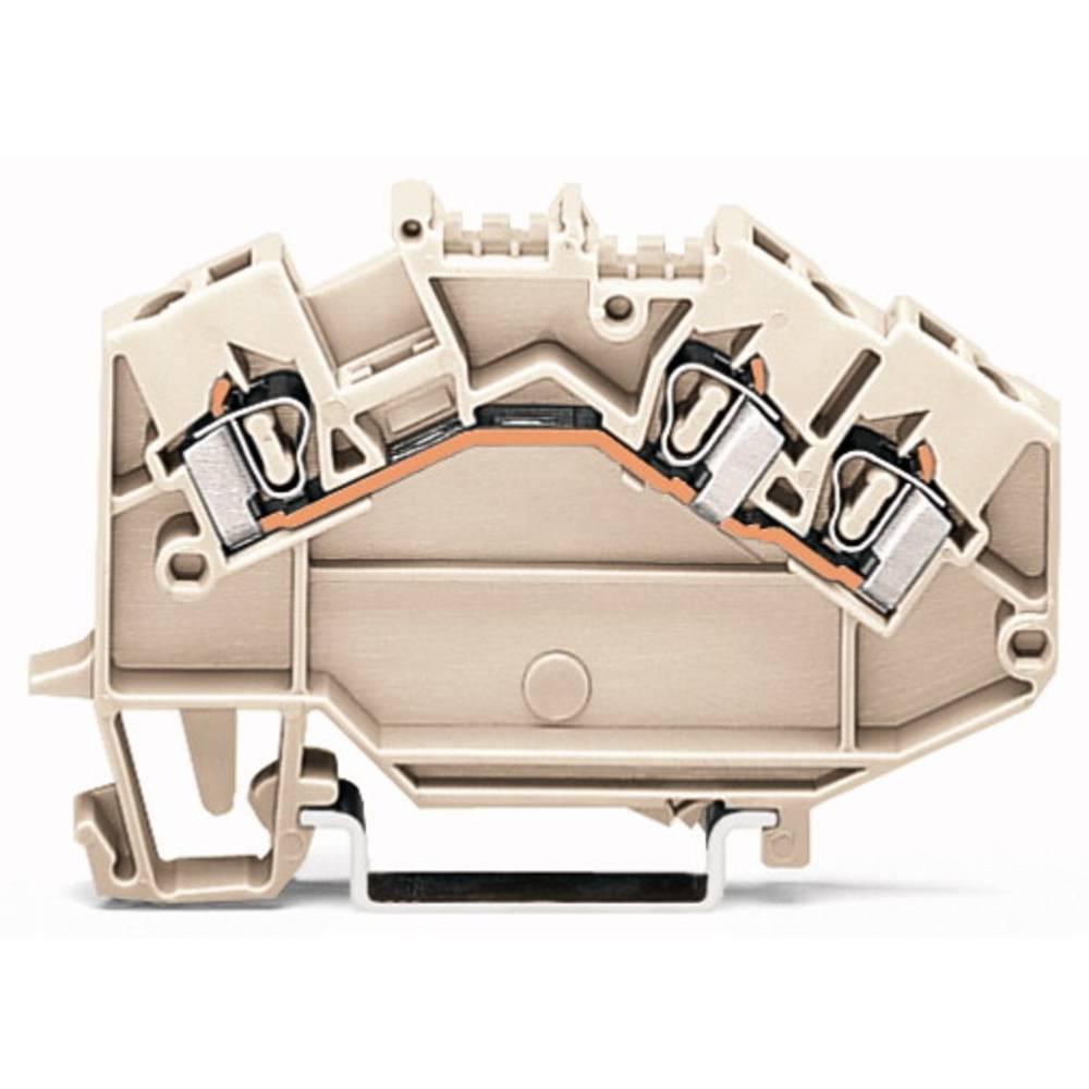 Gennemgangsklemme 5 mm Trækfjeder Belægning: L Grå WAGO 780-993 50 stk