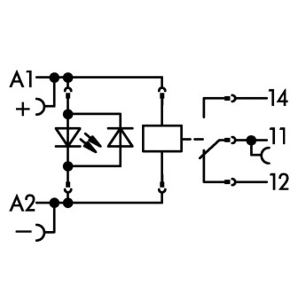 Vtičnica z relejem in indikatorjem stanja 15 kosov WAGO 788-323
