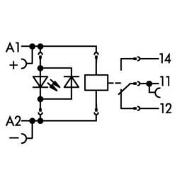 Relejni modul 15 komada WAGO 788-323 Nazivni napon: 12 V/DC struja prebacivanja (maks.): 16 A 1 izmjenjivač