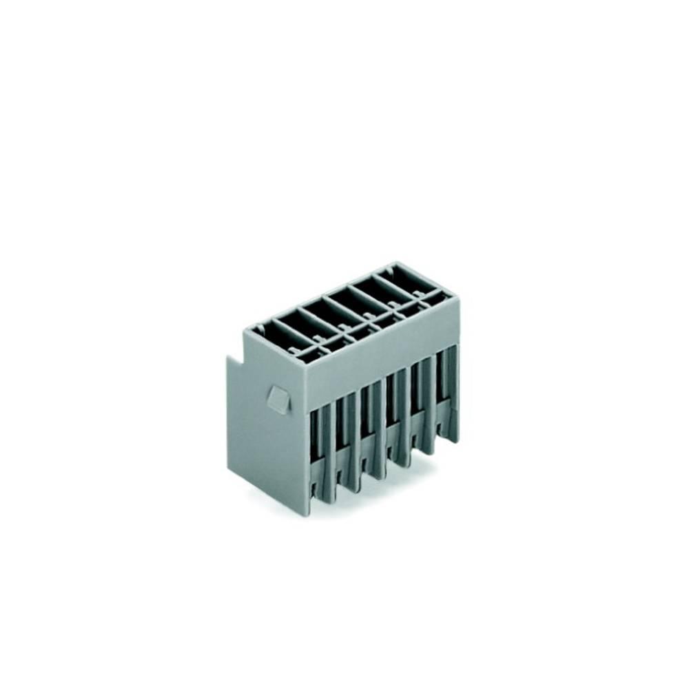 Tilslutningskabinet-printplade 769 (value.1361150) Samlet antal poler 6 WAGO 769-636 Rastermål: 5 mm 50 stk