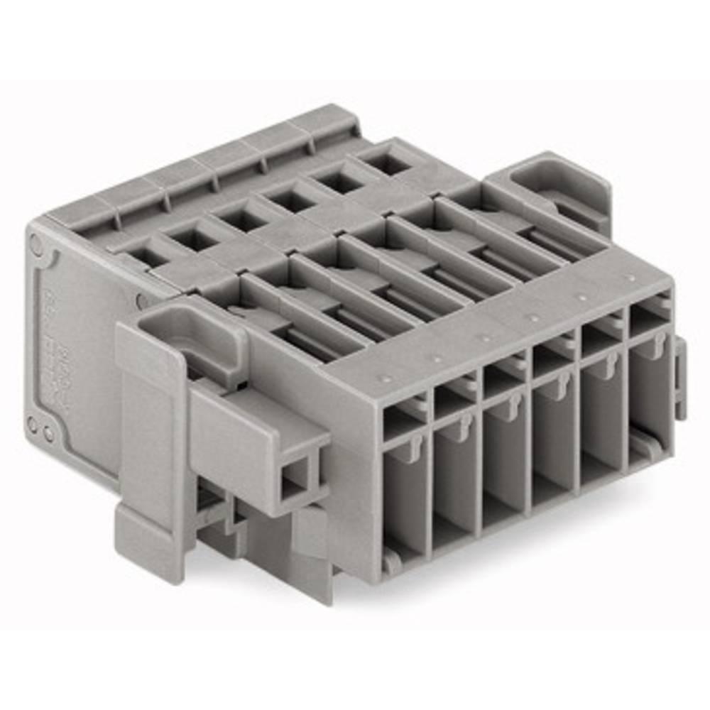 Tilslutningskabinet-kabel 769 (value.1361150) Samlet antal poler 10 WAGO 769-610/004-000 Rastermål: 5 mm 25 stk