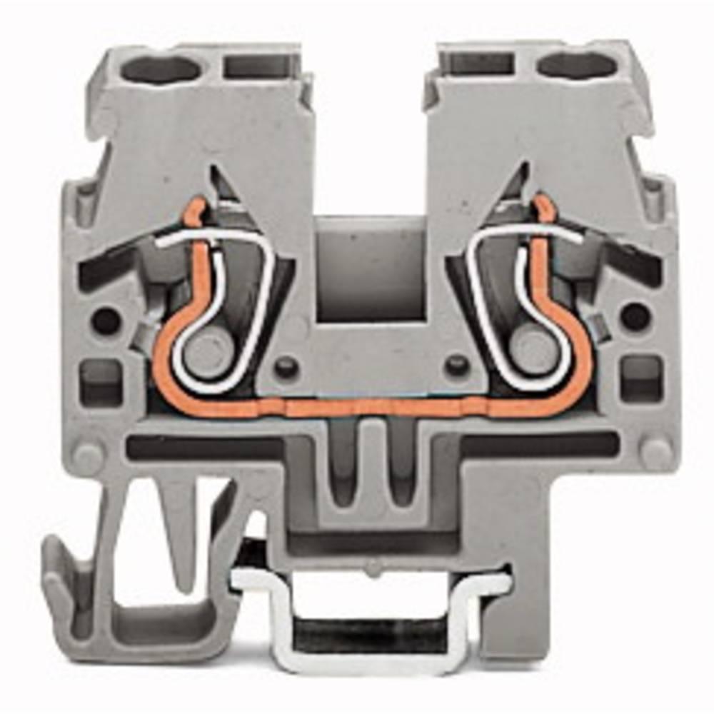 Gennemgangsklemme 5 mm Trækfjeder Orange WAGO 870-912 100 stk