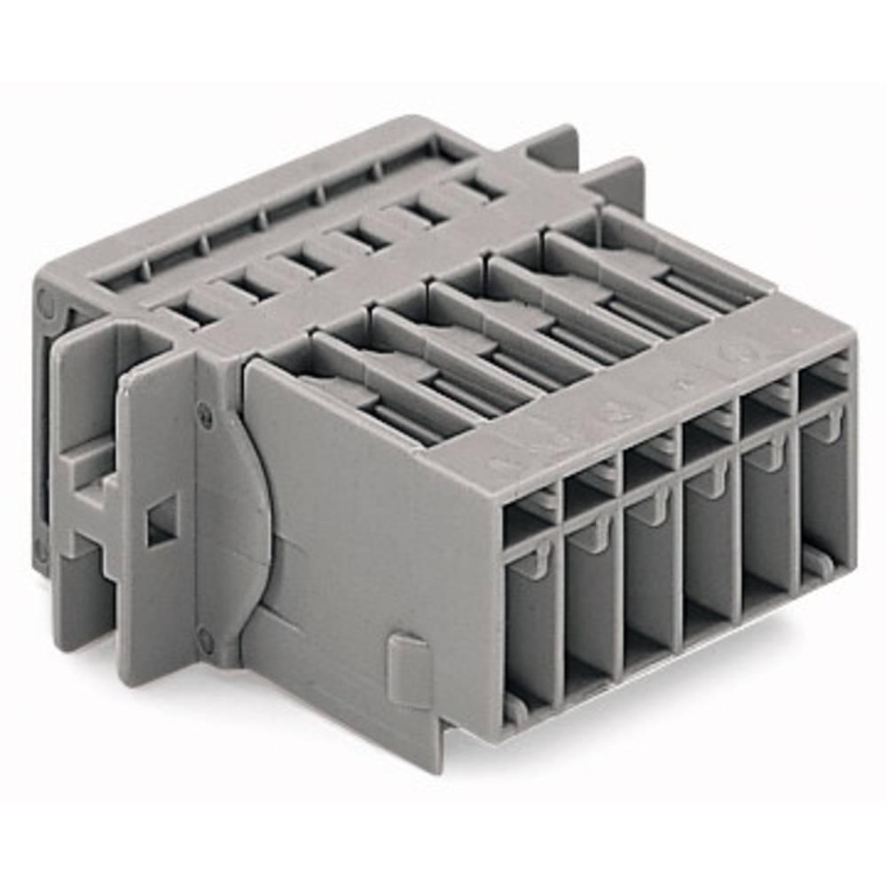 Tilslutningskabinet-kabel 769 (value.1361150) Samlet antal poler 4 WAGO 769-604/002-000 Rastermål: 5 mm 50 stk