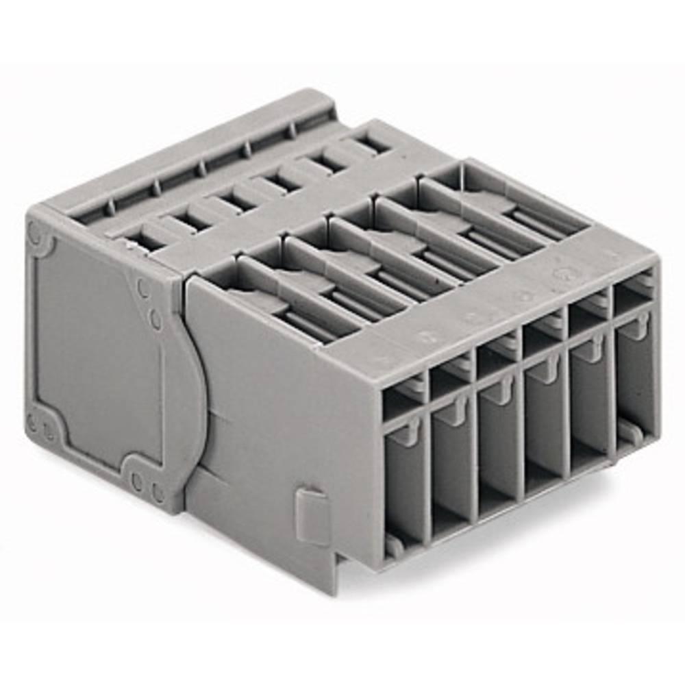 Tilslutningskabinet-kabel 769 (value.1361150) Samlet antal poler 8 WAGO 769-608 Rastermål: 5 mm 25 stk