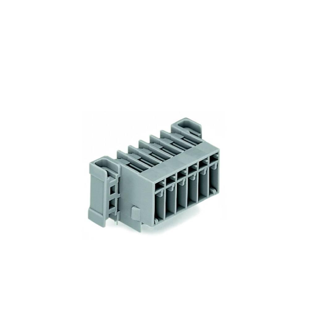 Tilslutningskabinet-printplade 769 (value.1361150) Samlet antal poler 2 WAGO 769-662/003-000 Rastermål: 5 mm 100 stk