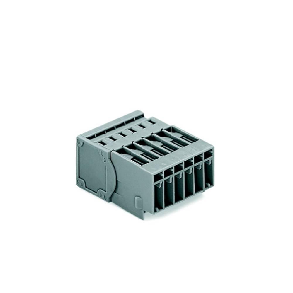Tilslutningskabinet-kabel 769 (value.1361150) Samlet antal poler 6 WAGO 769-606/001-000 Rastermål: 5 mm 50 stk