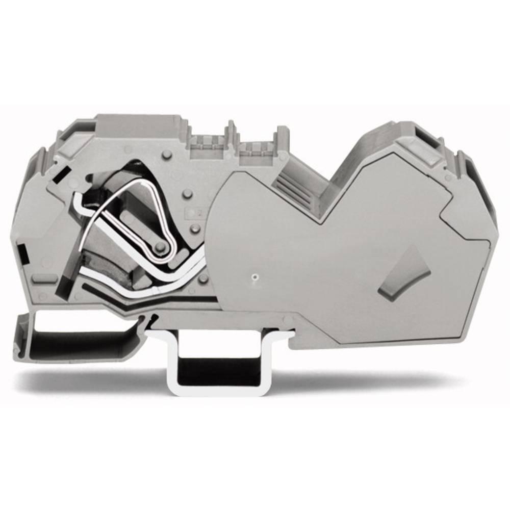 Gennemgangsklemme 16 mm Trækfjeder Belægning: N Blå WAGO 785-604 15 stk