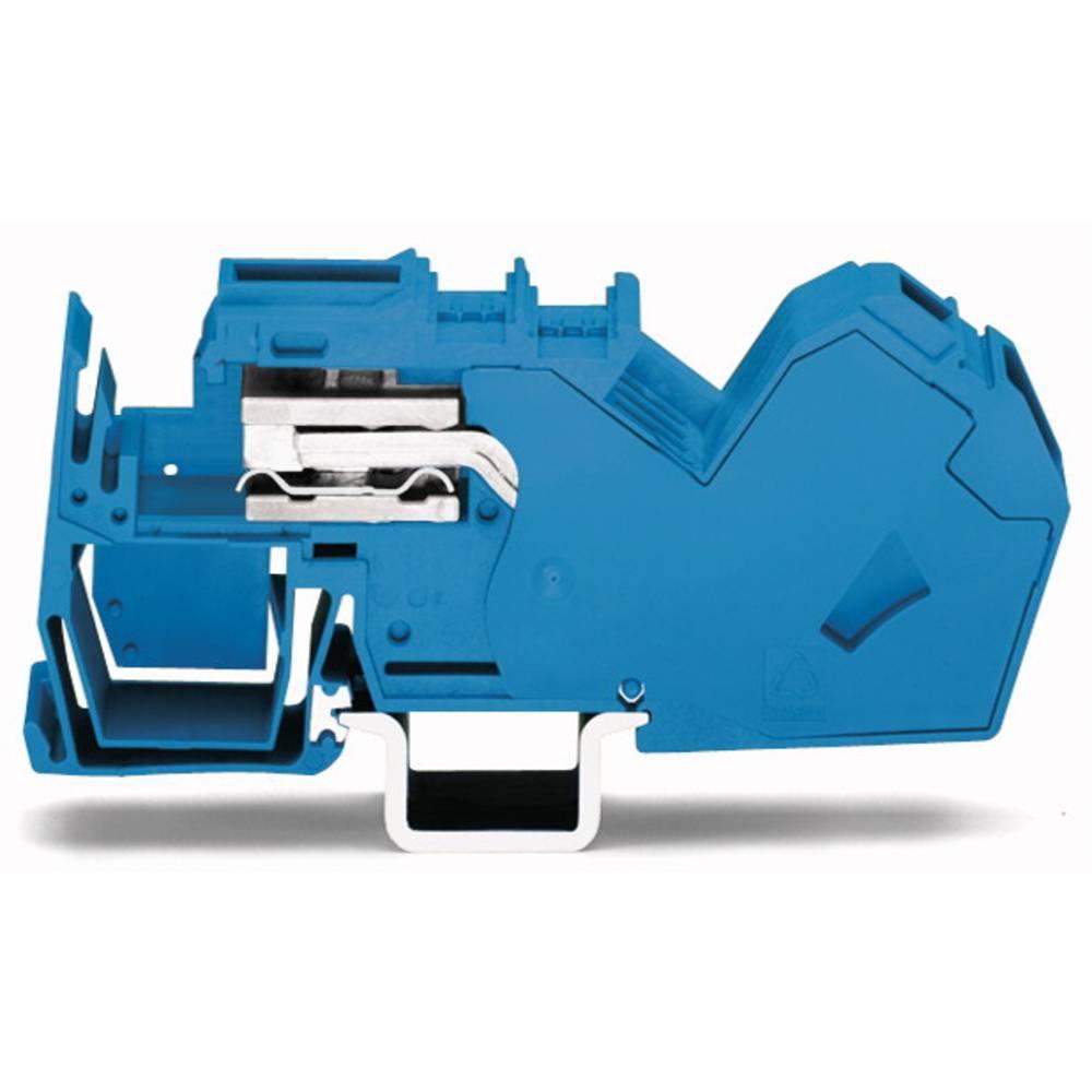 Potentialklemme 16 mm Trækfjeder Belægning: L Grå WAGO 785-623 15 stk