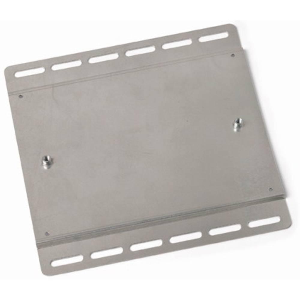 Monteringsplade WAGO Sølv 25 stk