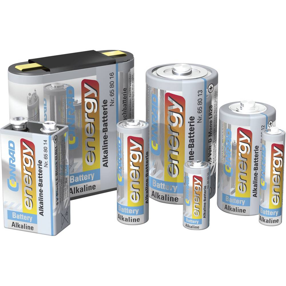 Mono (D) baterija Conrad energy alkalno-manganska LR20 1.5 V 2 kom.