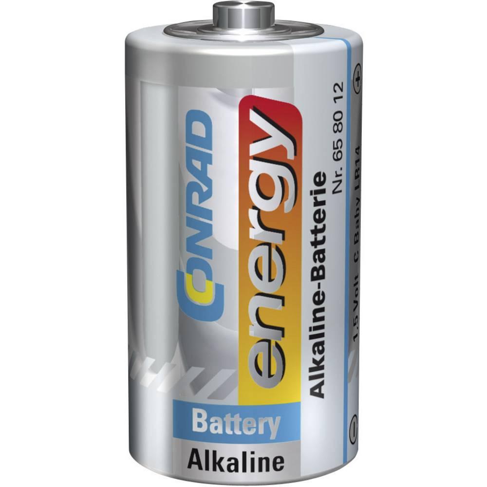 Baby baterija (C) LR14 Conrad energy alkalno-manganska 1.5 V 1 kom.