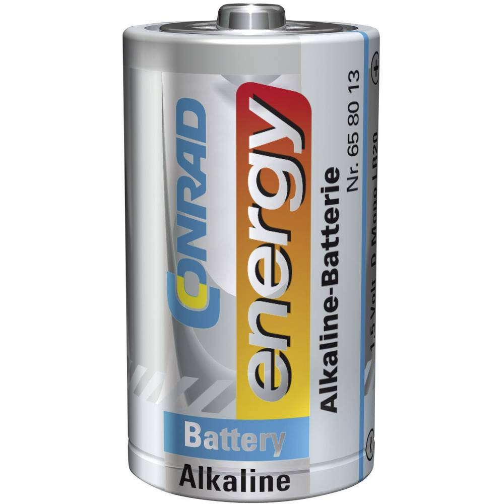 Mono baterija (D) alkalno-manganova Conrad energy LR20 1.5 V 1 kos