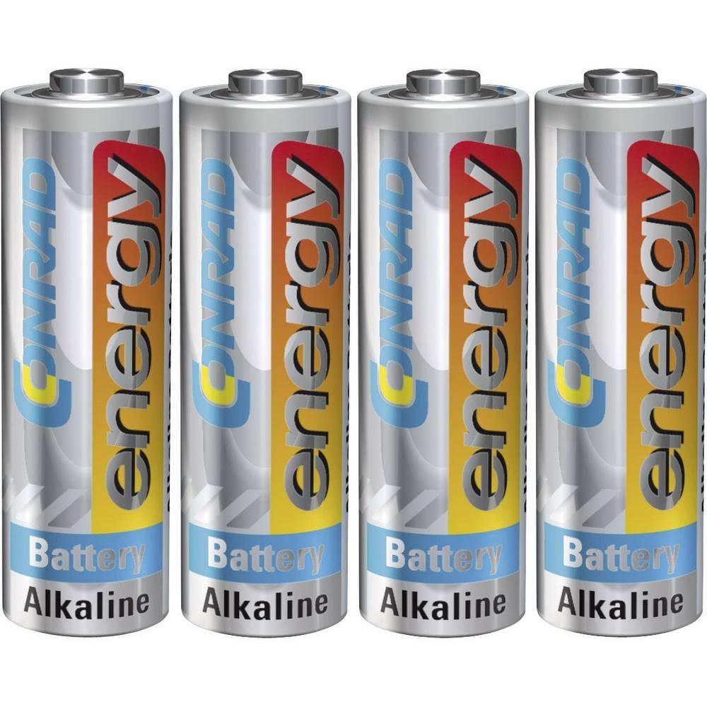 Mignon (AA) baterija, alkalno-manganska Conrad energy LR06 1.5 V 4 kom.
