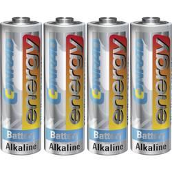 Batteri R6 (AA) Alkaliskt Conrad energy LR06 1.5 V 4 st