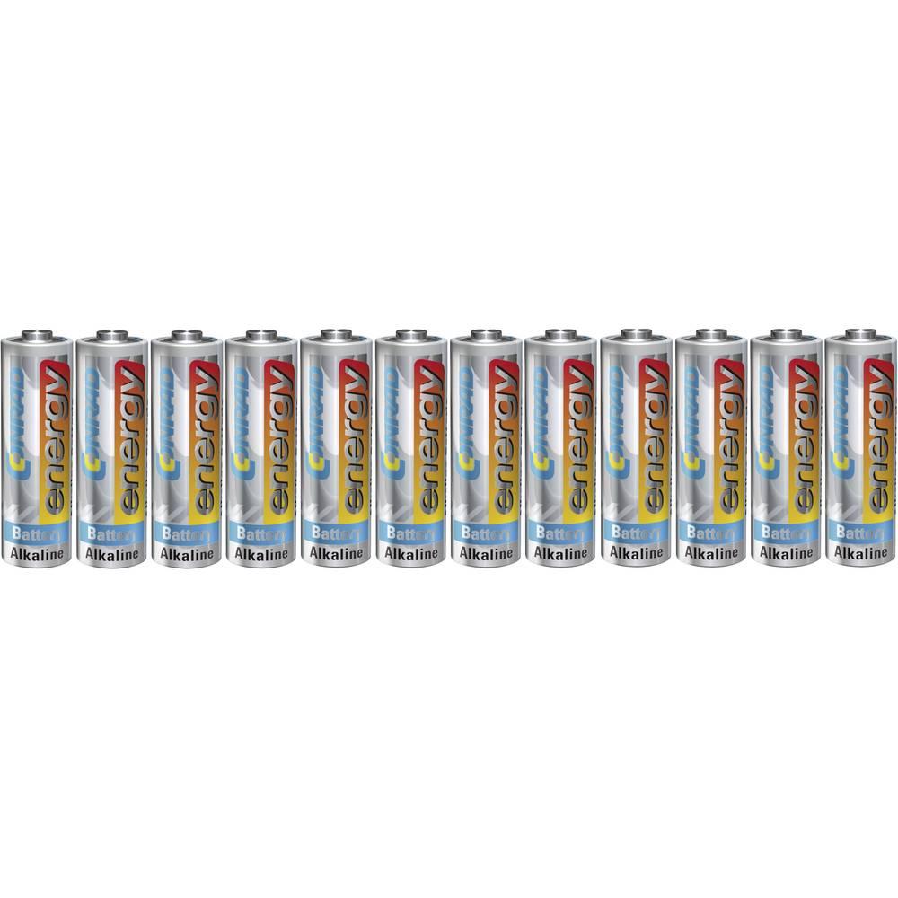 Mignon (AA) baterija, alkalno-manganska Conrad energy LR06 1.5 V 12 kom.