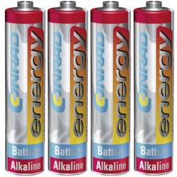 Batteri R3 (AAA) Alkaliskt Conrad energy Extreme Power LR03 1.5 V 4 st
