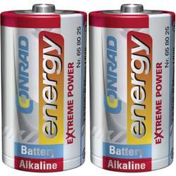 Batteri R20 (D) Alkaliskt Conrad energy Extreme Power LR20 1.5 V 2 st