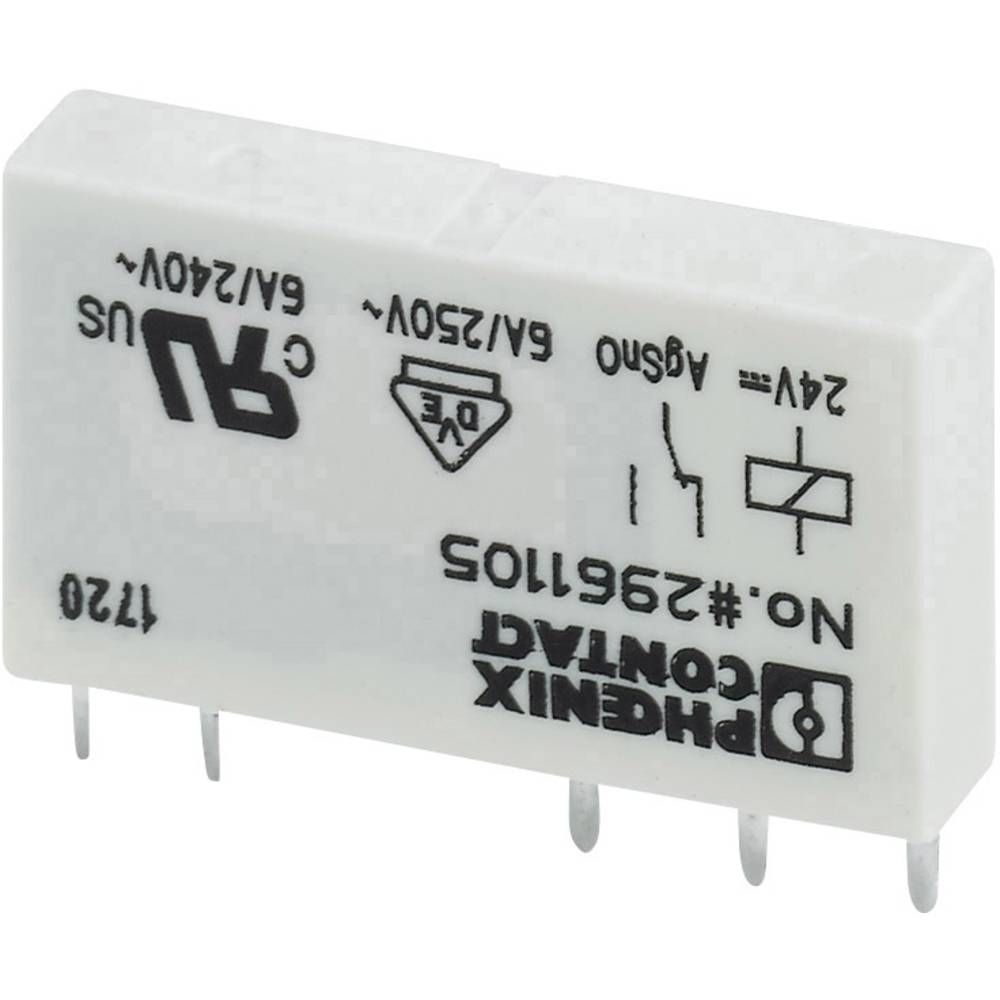 Printrelais (value.1292897) 4.5 V/DC 6 A 1 Wechsler (value.1345271) Phoenix Contact REL-MR- 4,5DC/21 10 stk