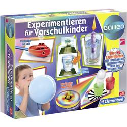 Eksperimentalni komplet Clementoni Galileo-Experimentieren f. Vorschulk. 69252.1