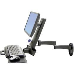 Ergotron Combo Arm Serie 200 1 kratni Stenski nosilec za monitor 25,4 cm (10) - 61,0 cm (24) Polica za tipkovnico, Možnost nag
