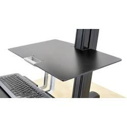Ergotron Delovna površina Primerno za serijo: Ergotron WorkFit-S nosilec monitorja Črna