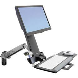 Ergotron StyleView Sit-Stand Combo Arm 1 kratni Stenski nosilec za monitor 25,4 cm (10) - 61,0 cm (24) Polica za tipkovnico, M