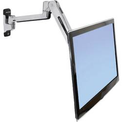 Ergotron LX Sit-Stand Wall Mount LCD Arm 1 kratni Stenski nosilec za monitor 25,4 cm (10) - 106,7 cm (42) Možnost nagiba, Možn