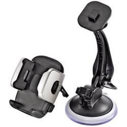 Sugkopp, Ventilationsgaller, Adhesiva dyna Mobilhållare för bil Hama Universal Smartphone Halter 40 - 110 mm