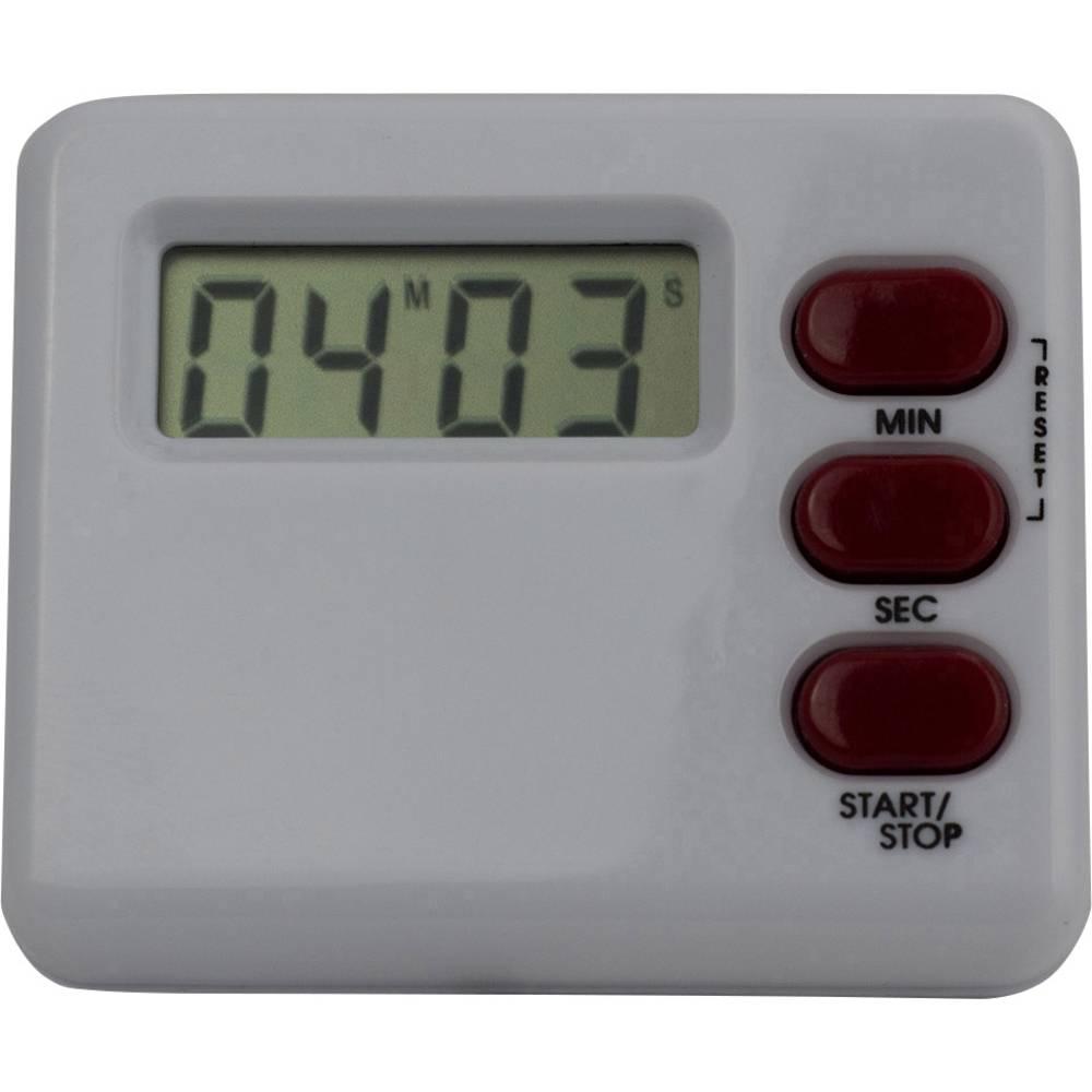 Digitalni mjerač vremena (Š x V x D) 60 x 40 x 15 mm bijeli, M902012C