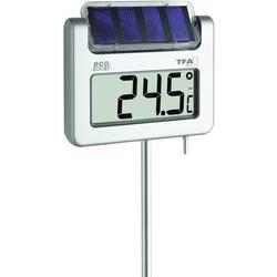 Trädgårdstermometer solcell TFA Avenue Silver